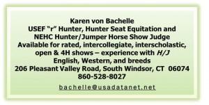 Karen Von Bachelle Show Judge