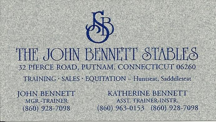John BennetBC2014